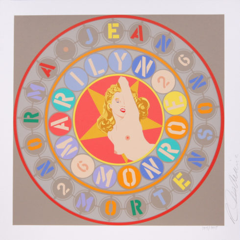 metamorphosis of norma jean by robert indiana