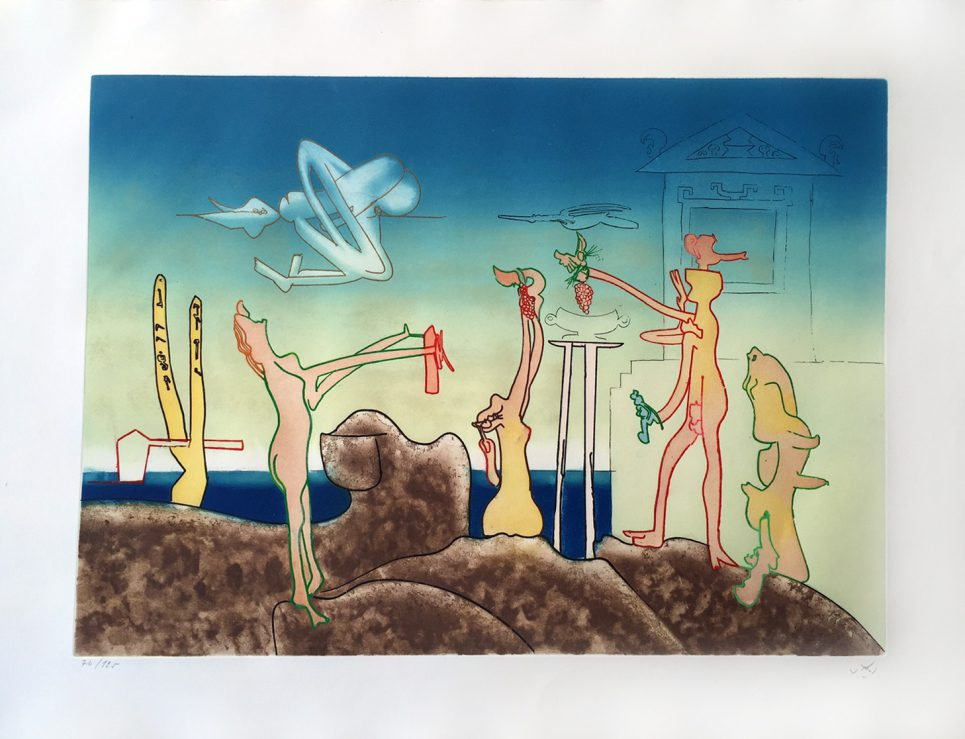 12AM - L'Arc Obscur Des Heurs by Roberto Matta