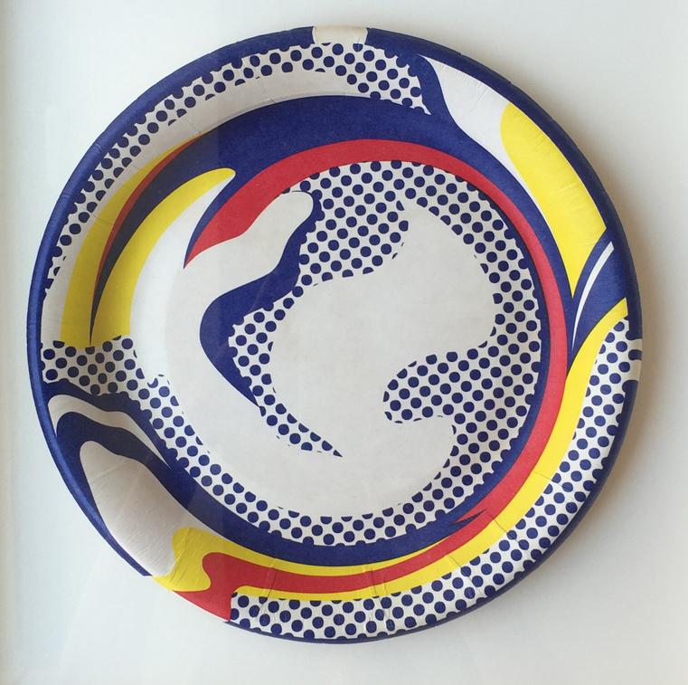 Roy Lichtenstein - Paper Plate