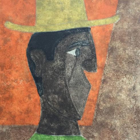 Rufino Tamayo - Cabeza con Sombrero