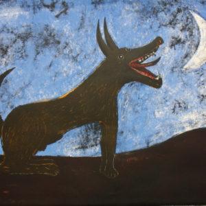 Rufino Tamayo Perro de Luna
