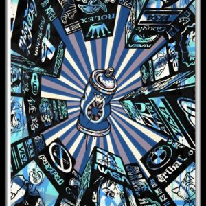 home street home (blue) by speedy graphito