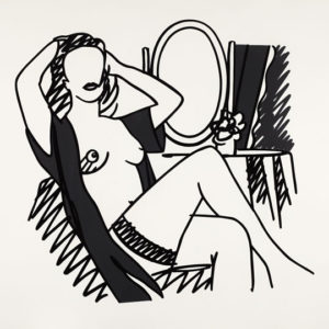 Tom Wesselmann Nude with Mirror