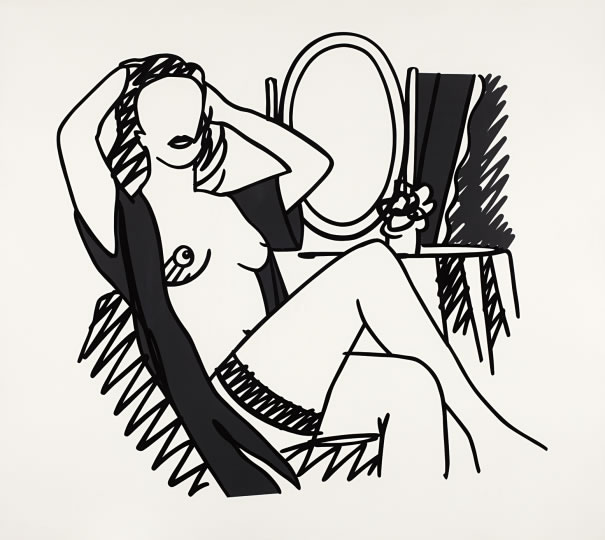 Tom Wesselmann - Nude with Mirror