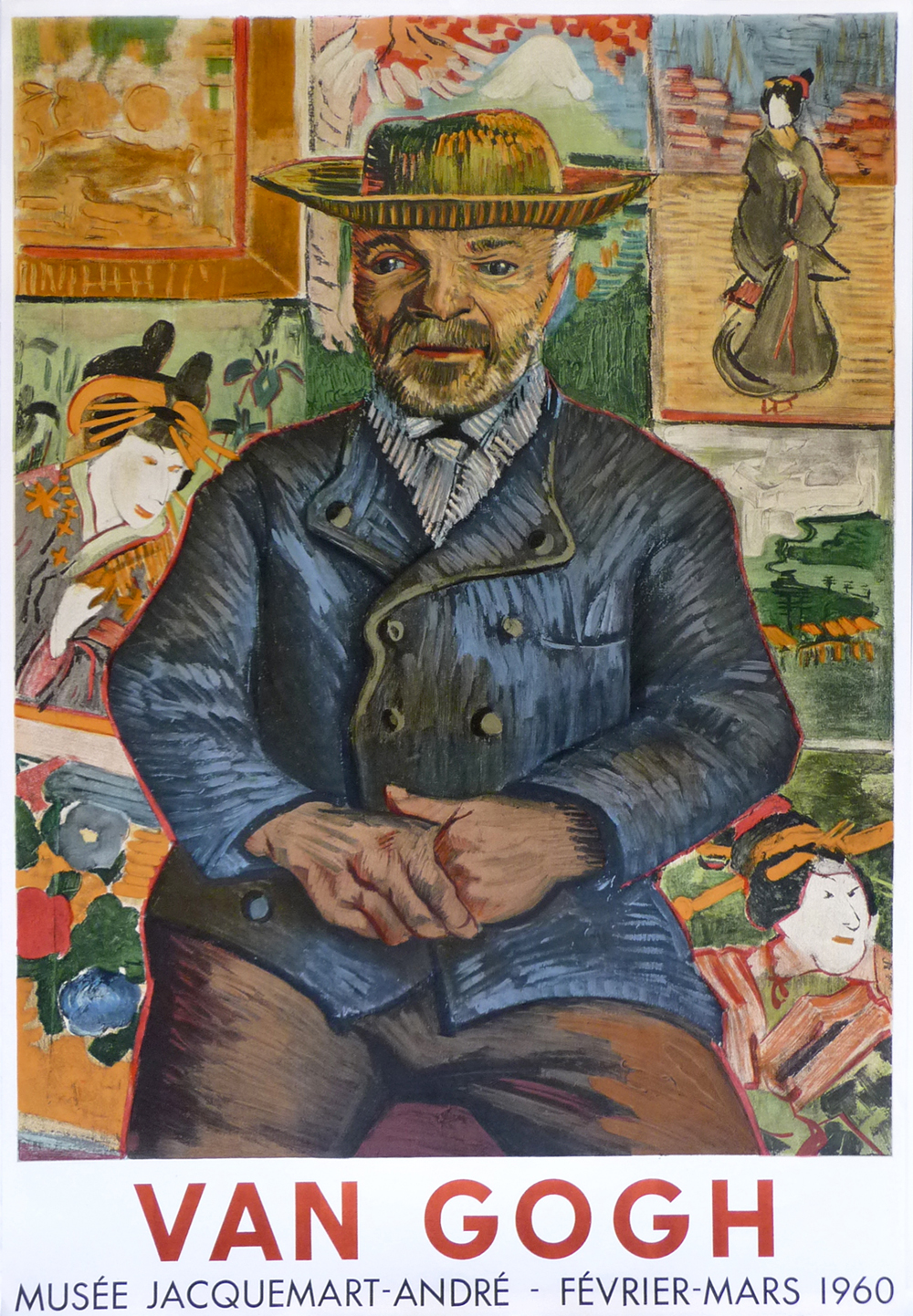 Vincent Van Gogh Poster - Musee Jacquemart Andre - Mourlot Posters