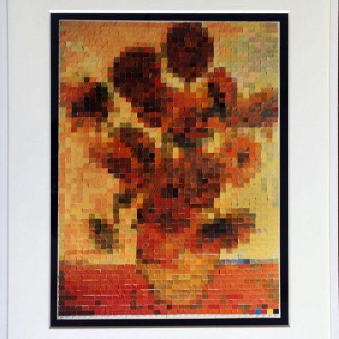 Sunflowers (2002) by Vik Muniz