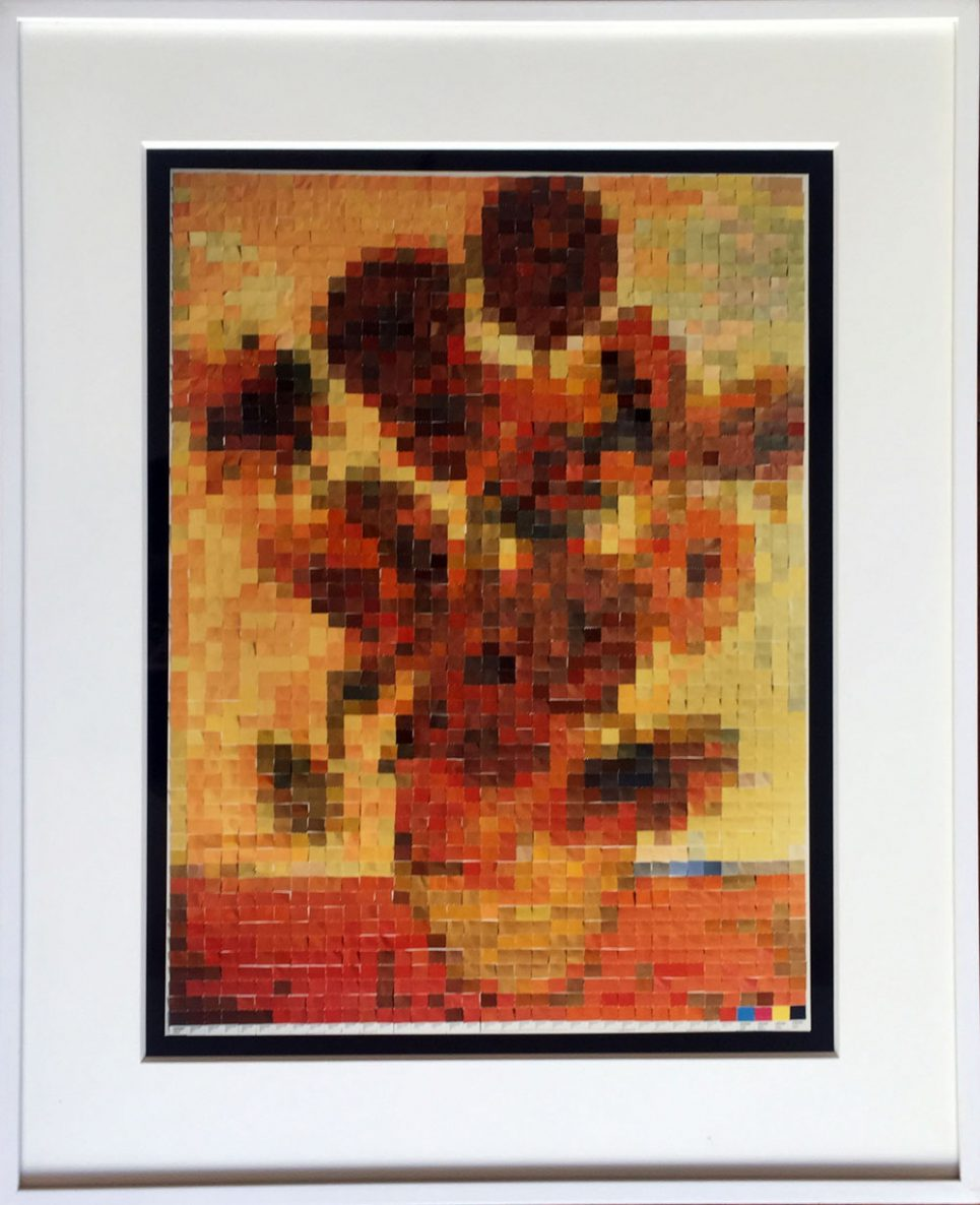 Sunflowers (2002) by Vik Muniz