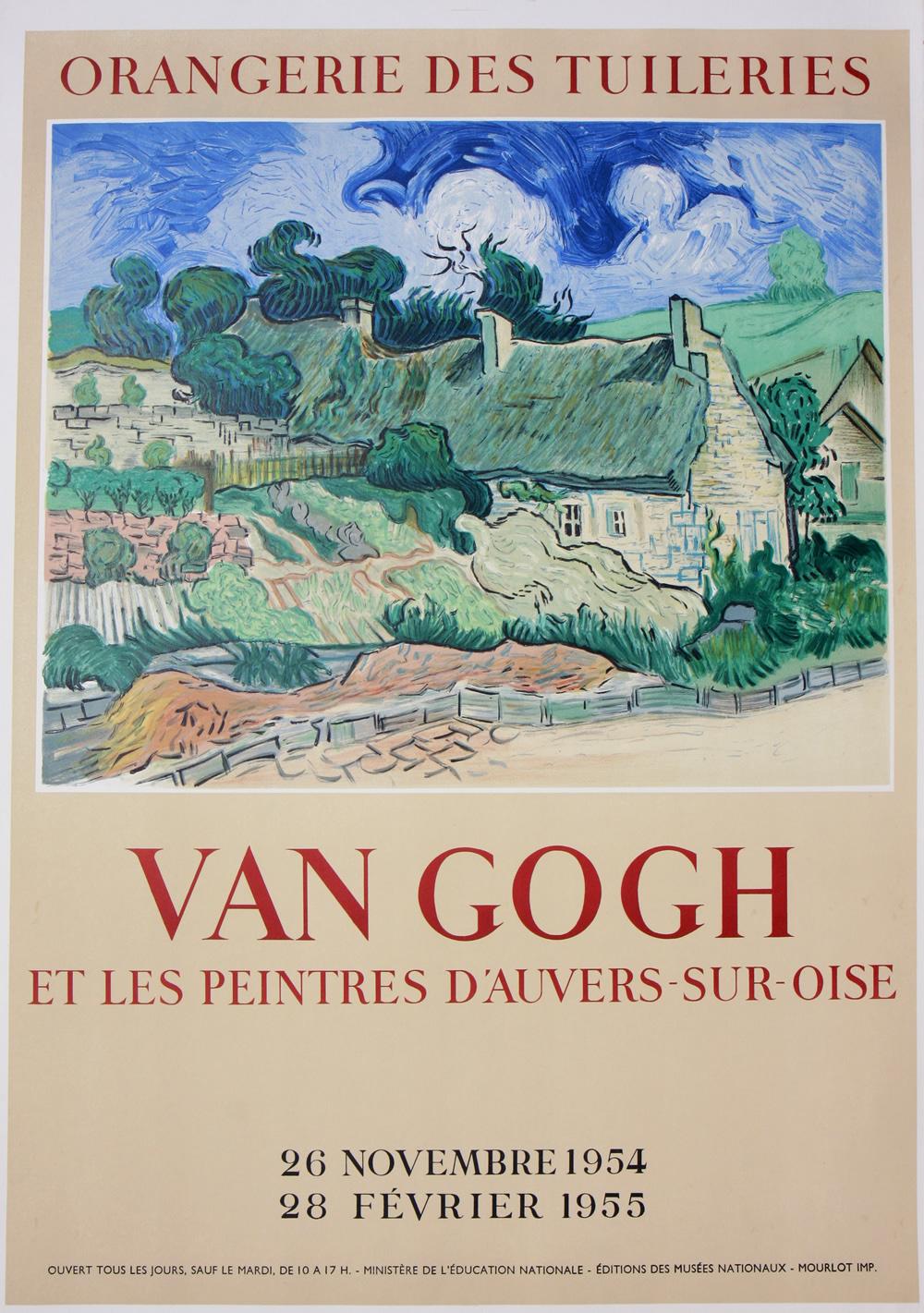 Vincent Van Gogh - Orangerie Des Tuileries - Vintage Poster