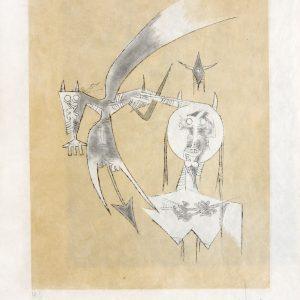 De Sceve a Diane (1975) by Wifredo Lam