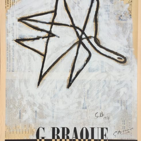 Georges Braque Poster - Galerie Maeght