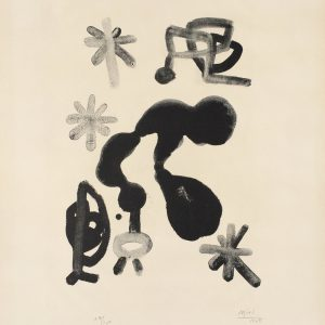 Album 13 Plate III by Joan Miro