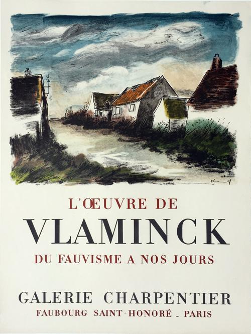Maurice de Vlaminck Poster Galerie Charpentier
