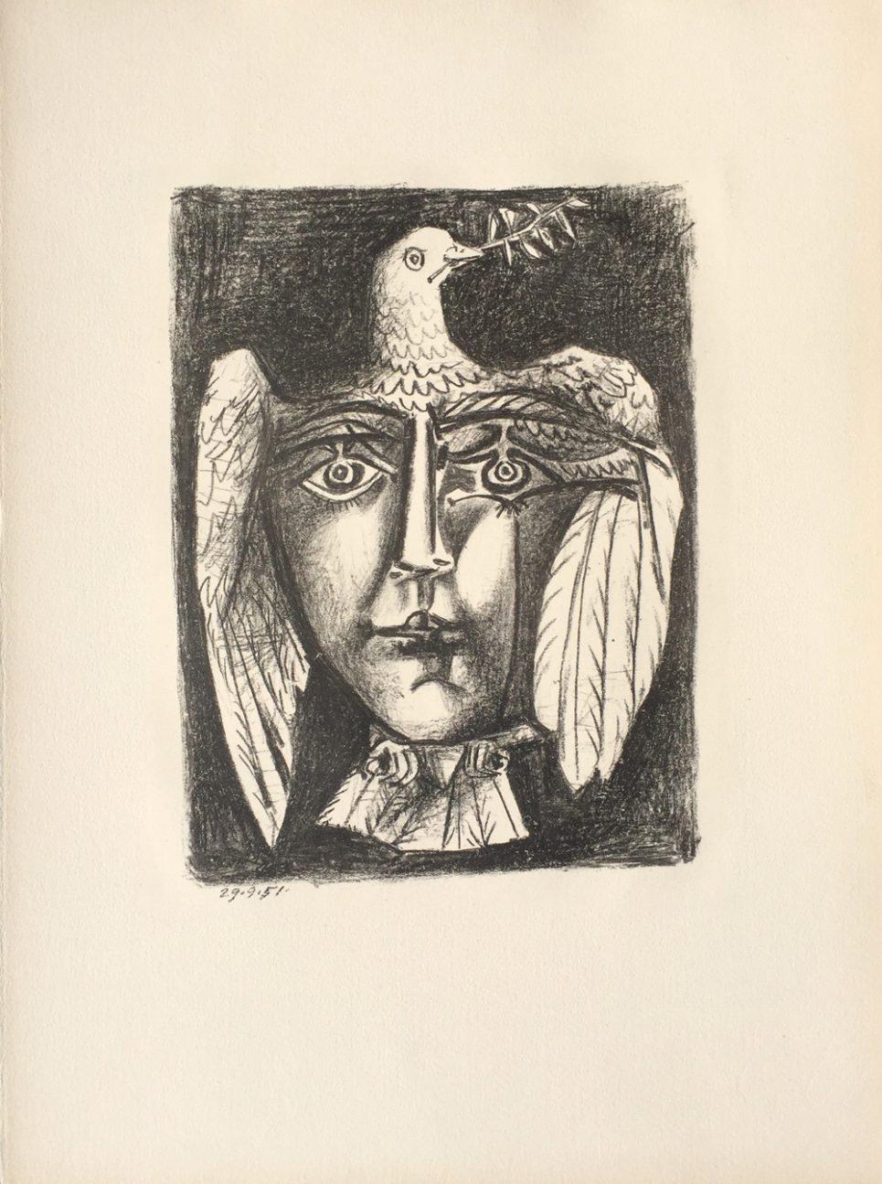 Pablo Picasso Bloch 687
