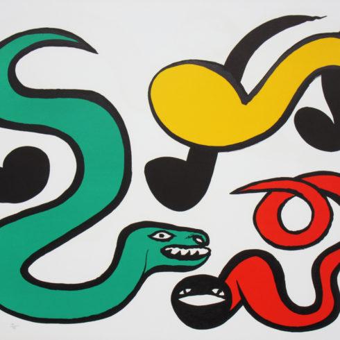 Alexander Calder - Couleurs au Choix