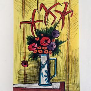 flower bouquet by bernard buffet