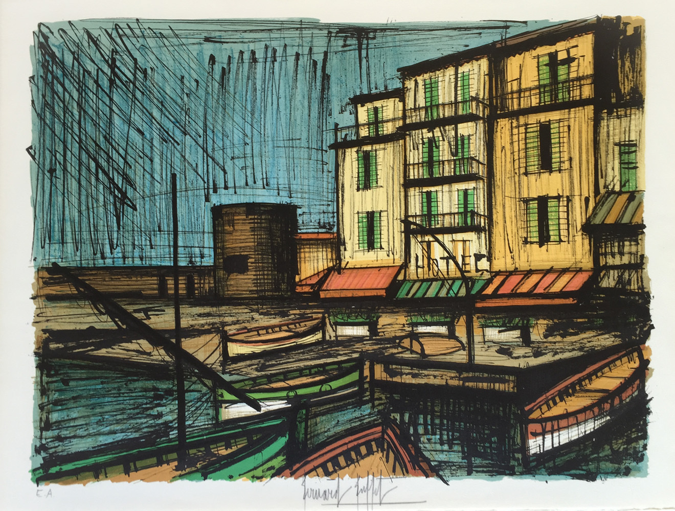 Tremendous Bernard Buffet St Tropez For Sale Denis Bloch Fine Art Download Free Architecture Designs Scobabritishbridgeorg