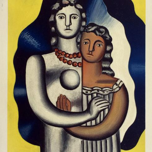 Fernand Leger - Les Deux Figures