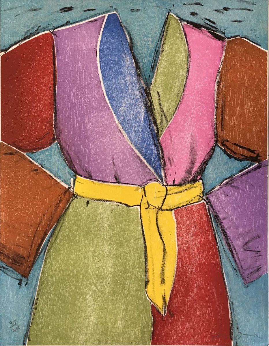 Jim Dine The Yellow Belt