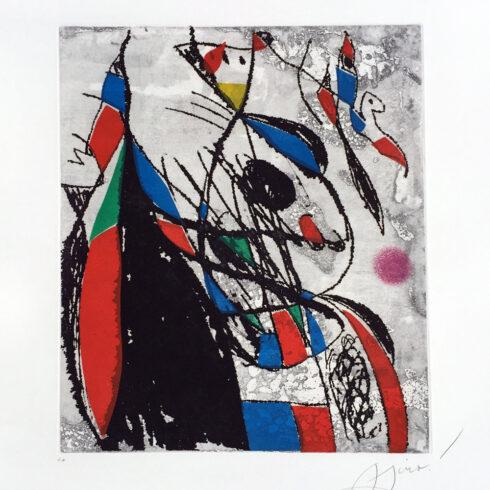 Joan Miro - L'Oiseleur et sa Compagne