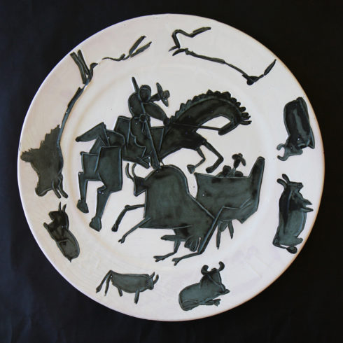 Pablo Picasso Corrida Ceramic