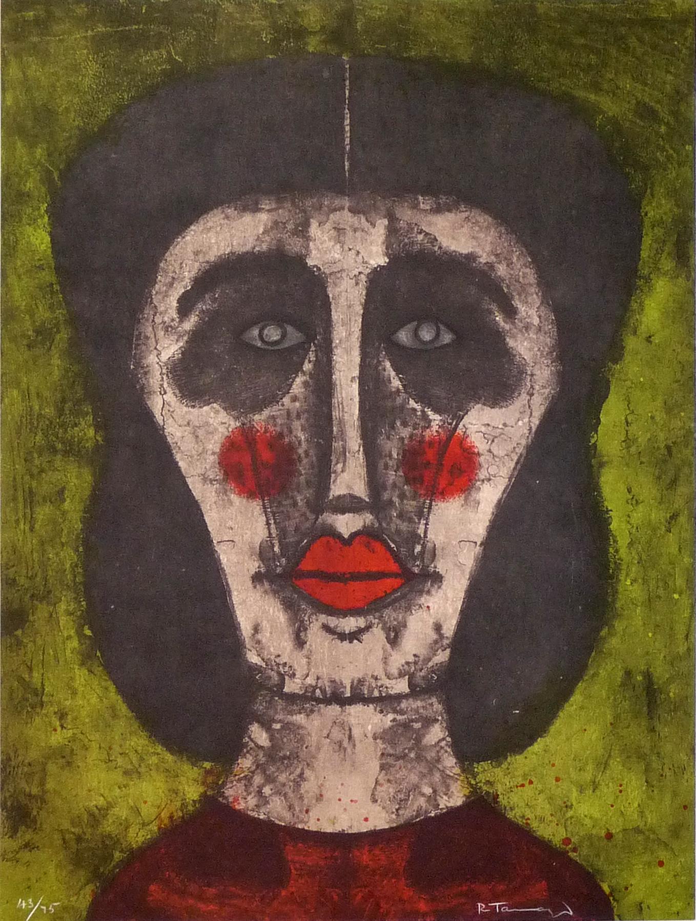 Rufino Tamayo - Cabeza de Mujer
