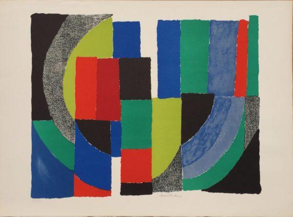 Sonia Delaunay Patchwork Composition