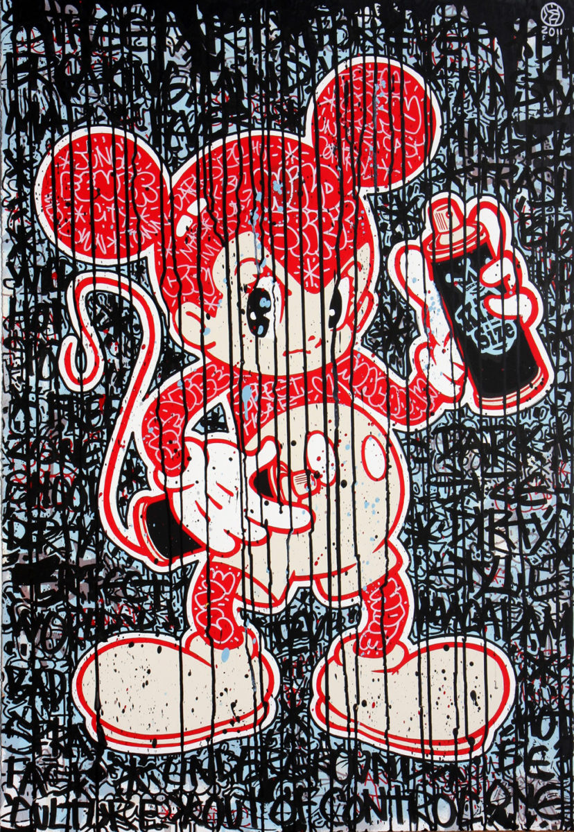 art astro boy (black) by speedy graphito