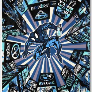 i spray my city (blue) by speedy graphito