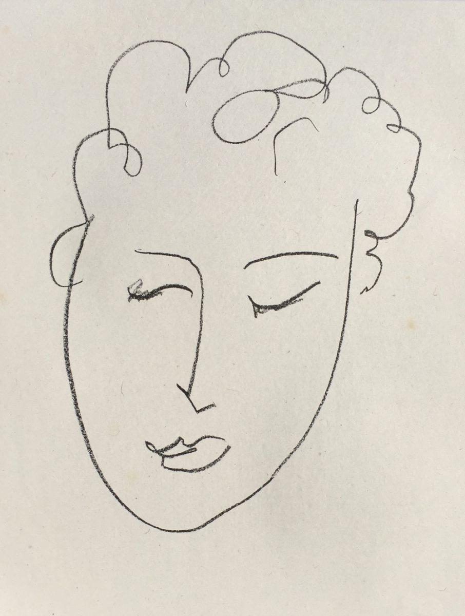 Henri Matisse Jules Romains (from Pierres Levees)