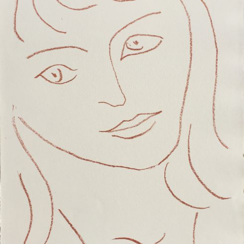 Henri Matisse - Visages - Faces (Plate II)