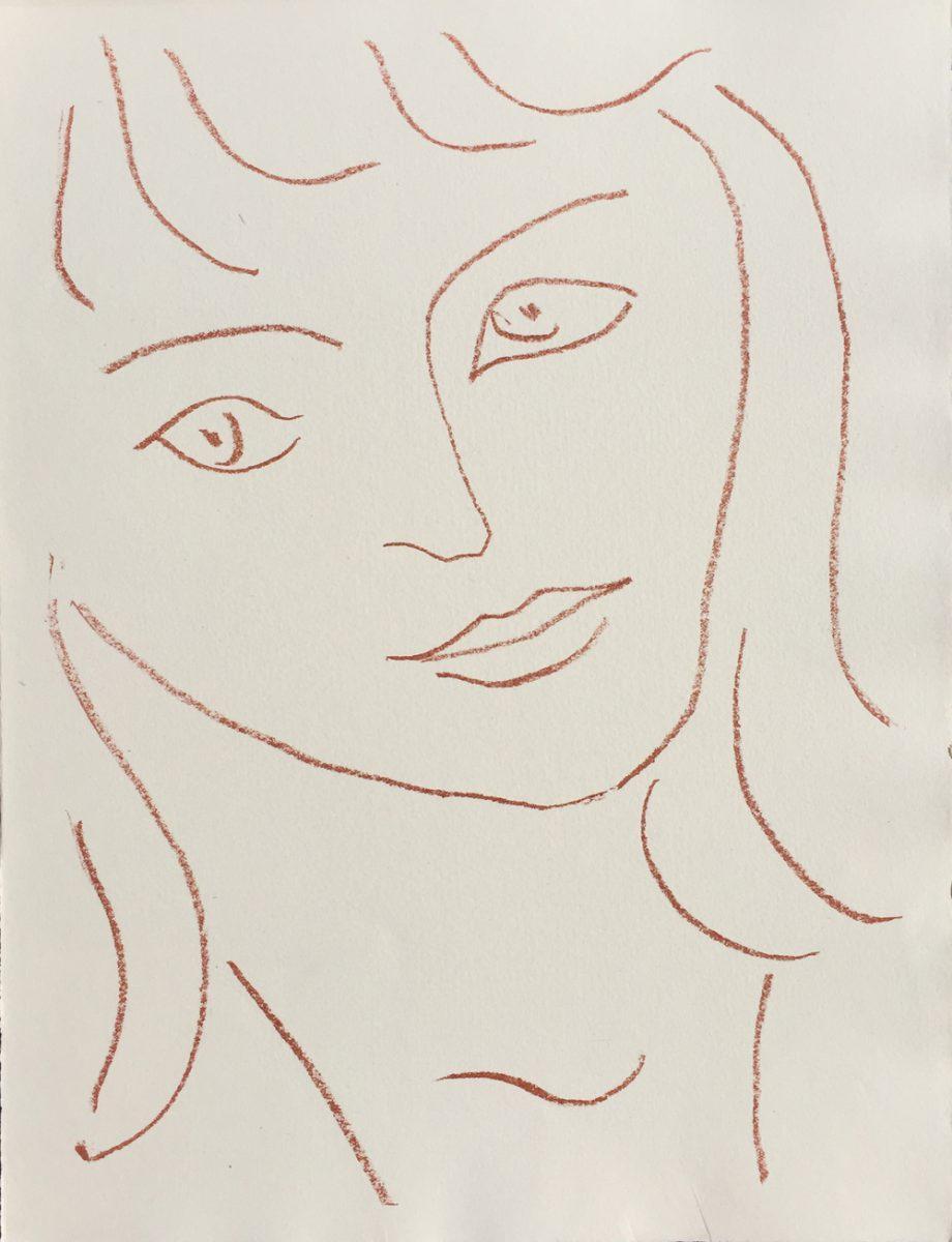 Henri Matisse Visages - Faces (Plate II)