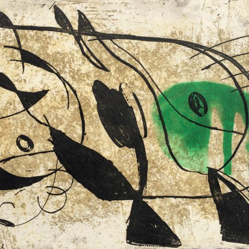 la commedia dell arte by joan miro