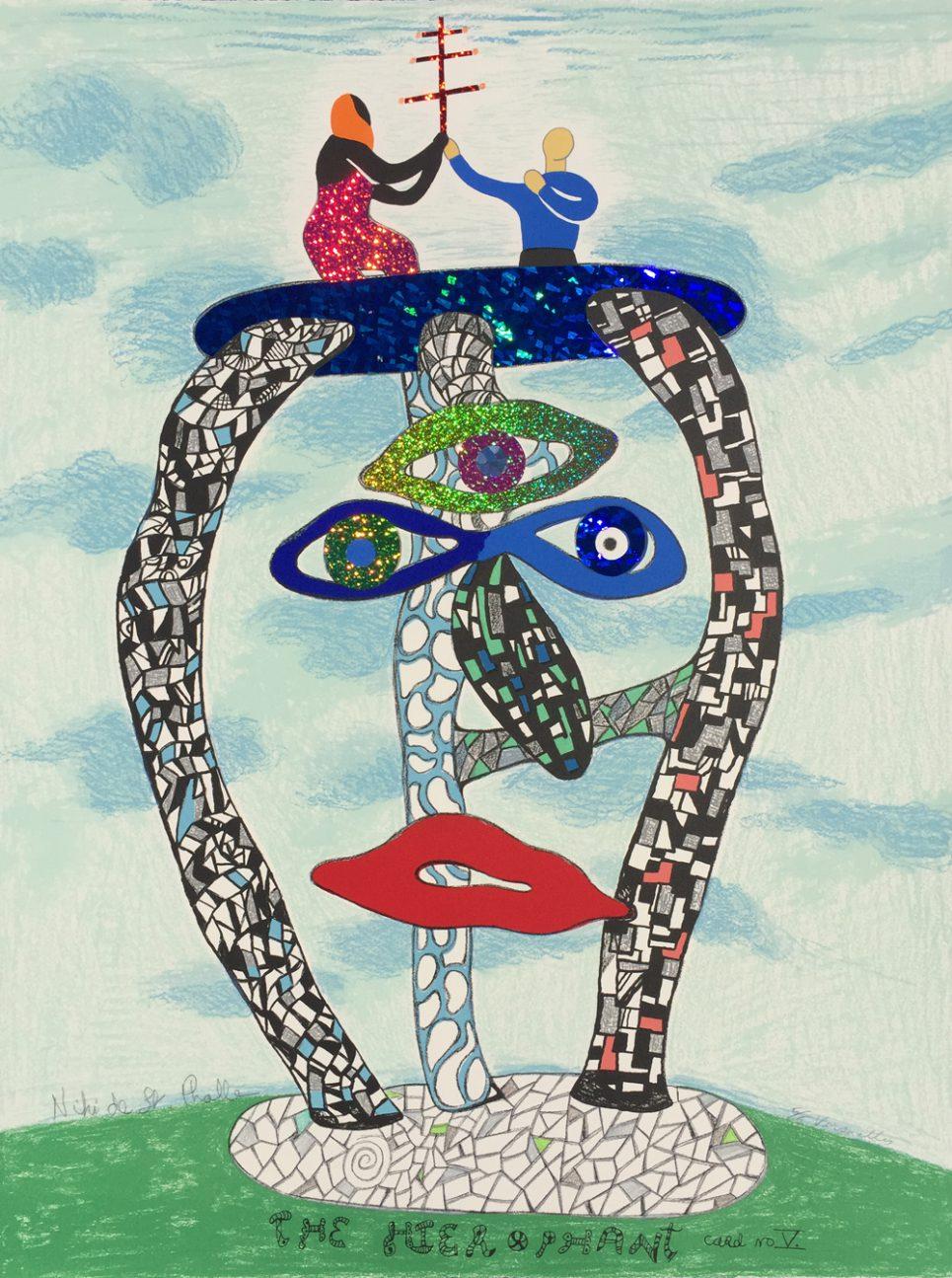 niki-st-phalle-the-hierophant-card-v
