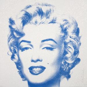 Mr. Brainwash - Diamond Girl - Marilyn Monroe (Blue)