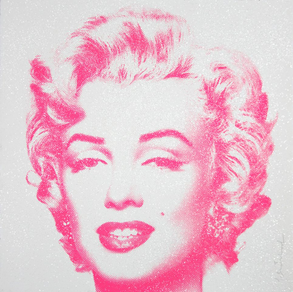 Mr. Brainwash - Diamond Girl - Marilyn Monroe (Pink)