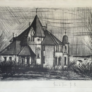 chateau de la vallee by bernard buffet