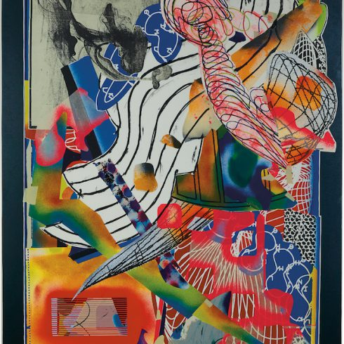 the candles by Frank Stella