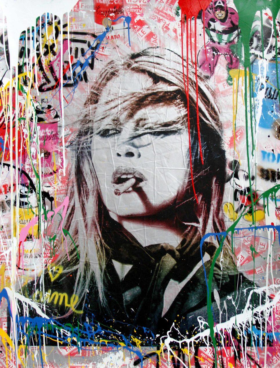 Brigitte Bardot by mr brainwash
