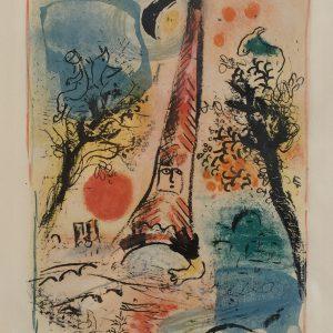 Marc Chagall Vision de Paris