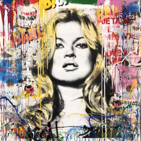 Mr. Brainwash - Kate Moss (50 x 50)