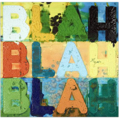 Mel Bochner - Blah Blah Blah