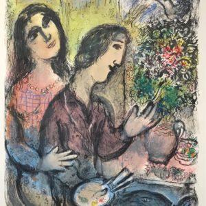 Marc Chagall La Femme du Peintre