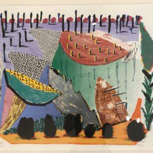 David Hockney Slow Rise