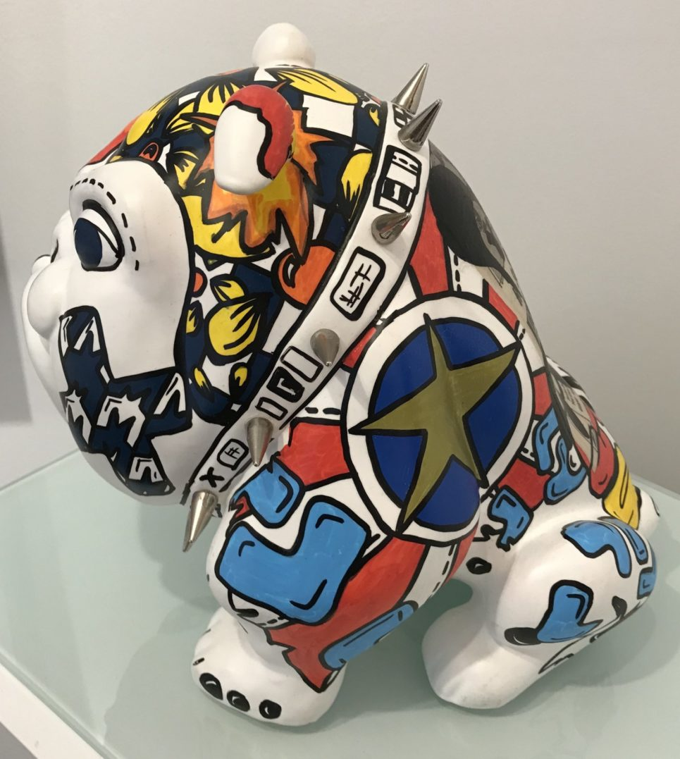 bulldog collab x anne sophie by frederic avella