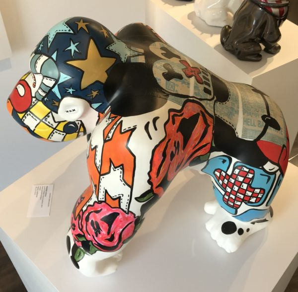 gorilla collab x anne sophie by frederic avella