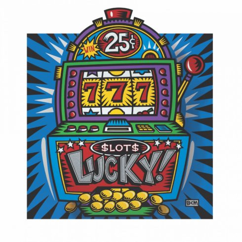 Lucky by Burton Morris