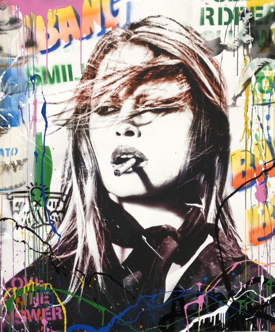Mr. Brainwash - Brigitte Bardot
