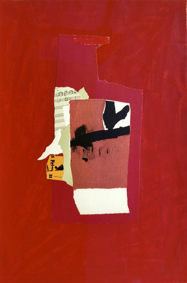 Robert Motherwell Redness of Red