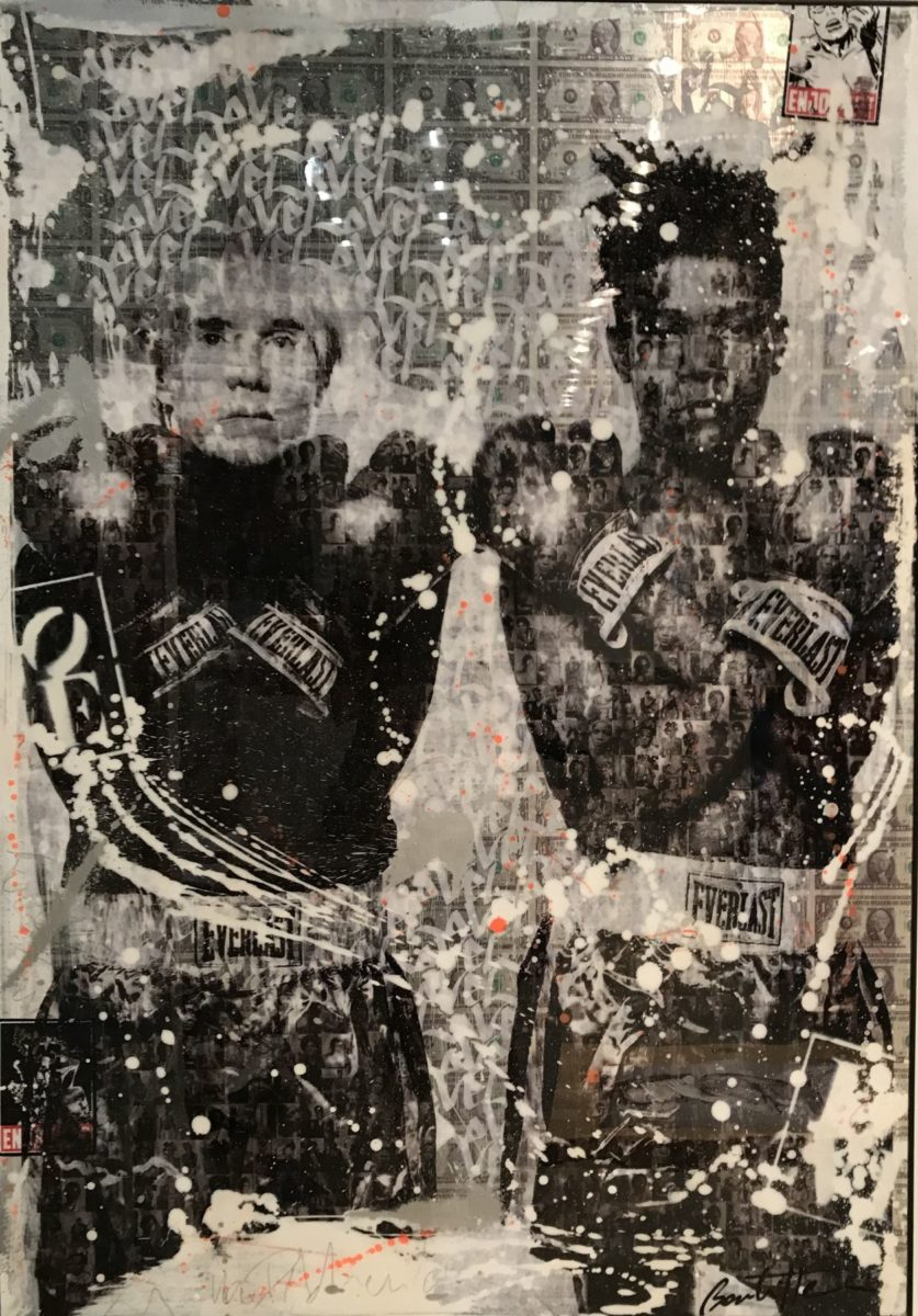 Cedric Bouteiller - Andy Warhol and Jean-Michel Basquiat
