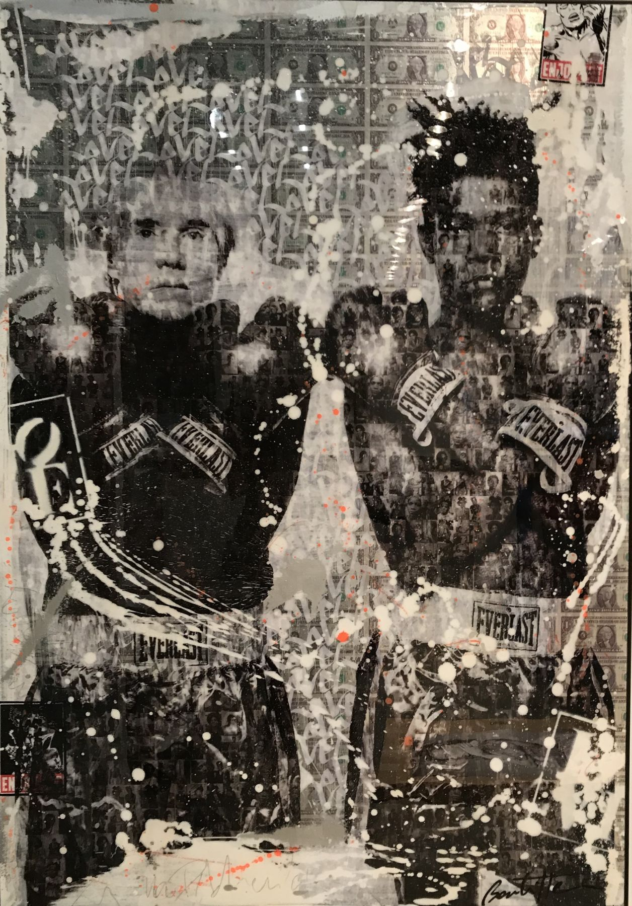 cedric bouteiller andy warhol and jean michel basquiat denis